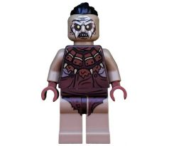 LEGO (79016) Hunter Orc with Top Knot - Coat with Fur Trim-The Hobbit: The Battle of the Five Armies
