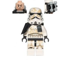 LEGO (75052) Sandtrooper - Black Pauldron, Ammo Pouch, Dirt Stains, Survival Backpack - : Star Wars Episode 4/5/6