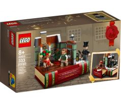 LEGO 40410 Charles Dickens Tribute - Holiday & Event: Christmas