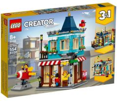 LEGO 31105 Townhouse Toy Store - Creator: Model: Building